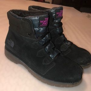 The North Face Suede Boots